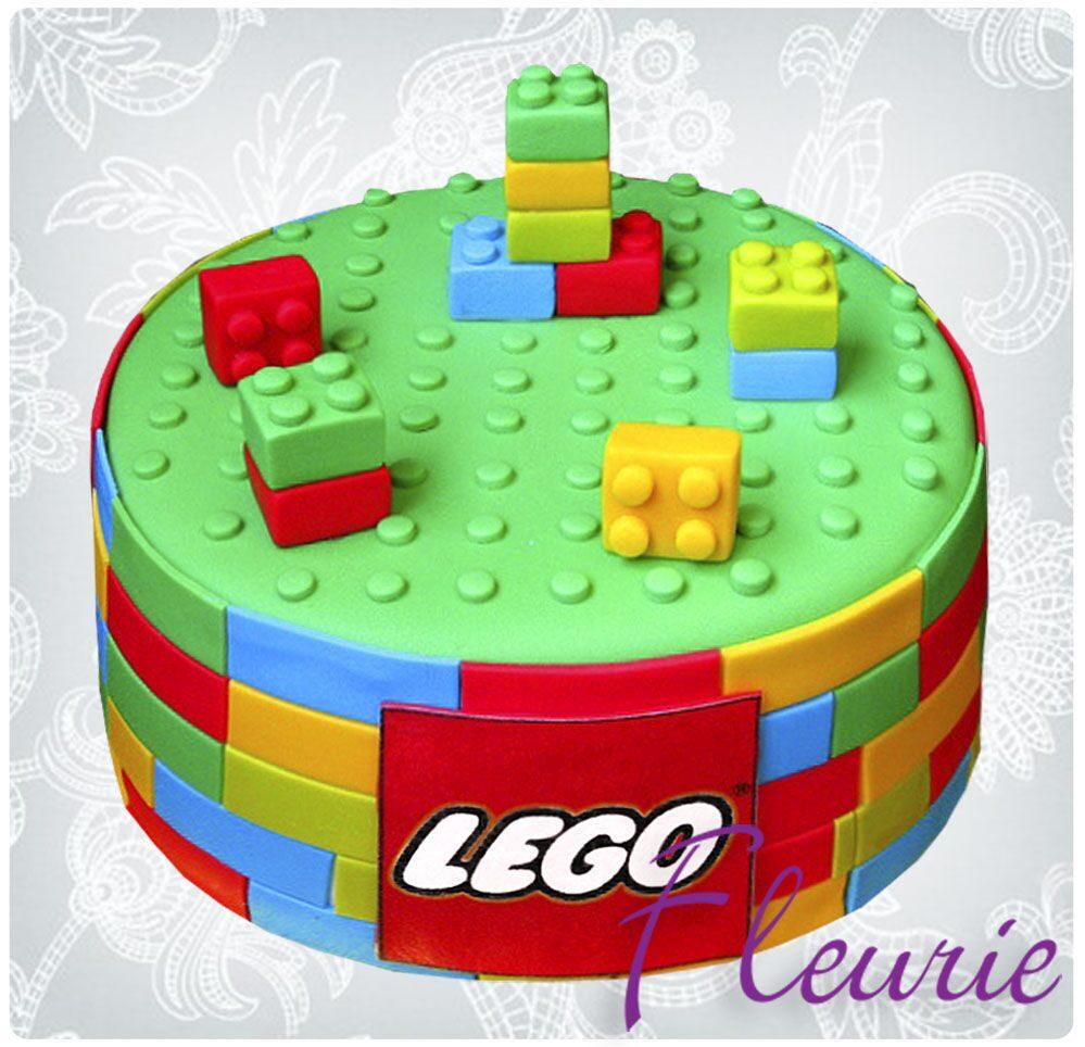 фото торт лего